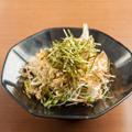 そばの芽サラダ